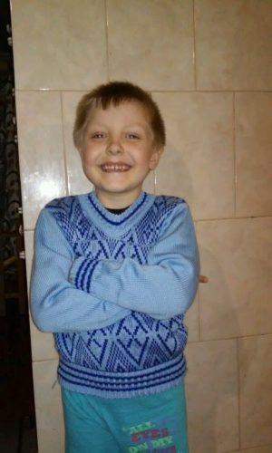 Виды творческой деятельности: пуловер для мальчика с узором
