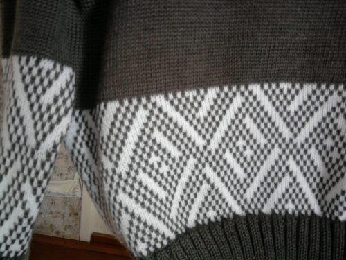 Машинное вязание модели: узор для пуловера