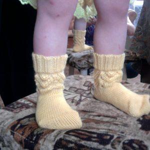 Ажурные носочки детские