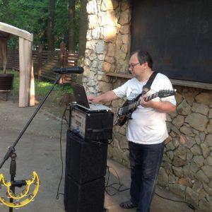 Музыкант-исполнитель Владимир Евстратов