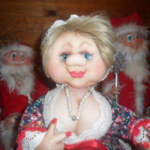 Креативные идеи для кухни в виде куклы-грелки