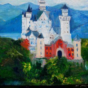 Замок в Германии Людвига Баварского