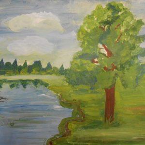 Весенний пейзаж Киселёвой Майи