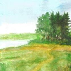 "Киселёва Майя. ""Незаметною тропой"" пейзаж"